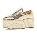 Womens Platform Heel Comfort Loafers Shoes(More Colors)