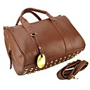 Rivets Decoration Fashion Women Shoulder  Handbags