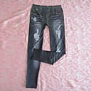 womens-legging-pants-destoryed-jeans-look-dark-black