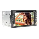 6.2inch 2 DIN en el tablero del coche universal reproductor de DVD para Nissan con GPS, IPOD, RDS, BT, pantalla táctil, TV