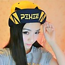 Men's And Women's PIXIEBOY Angry Letters Spell Color Double Eaves Hip Hop Cap