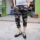 Mens Casual Pants Army Wave Camouflage Cotton Pants