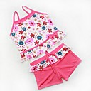 Girls Cute Multi Color Tankinis Baby Swimwear