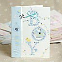 Blue Side Fold Greeting Card for Baby Shower