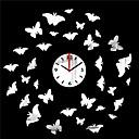 """20 """"H Estilo Moderno espejo de la mariposa del reloj de pared"""