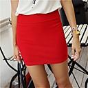 Slim Mujer Paquete Hip Minifalda (más color)