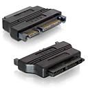 """1.8 """"Micro SATA 7 9 16pin disco duro SSD de disco duro de 2,5"""" adaptador de 7 15 SATA 22pin Portátil"""
