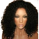 14 Short Kinky Curly Full Lace 100% Indian Remy Human Hair Short Wig- 5 Colors to Choose