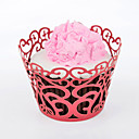 Laser Cut Cupcake Wrappers - Set of 24 (More Colors)