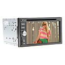 6.2inch 2 Din universal de coches reproductor de DVD con GPS, IPOD, RDS, BT, pantalla táctil