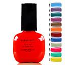 Super Girl Gorgeous Soak Off UV Color Gel No.37-48 (1PCS 7ml, Assorted Colors)