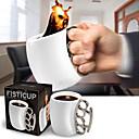 Elegant Mug with Finger Handle,Ceramic 30oz Random Color