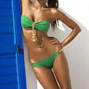 Colgante del metal del bikiní de las mujeres IKINI Sexy (Verde)