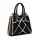 Womens Fashion Splicing Frosted Tote