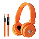 Colorful Folding Design Adjustable Soft Headset Headphone for IPhone4/4S/5/5S/5C