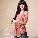 YIQI Womens Sweet Two Pieces Short Sleeve T-Shirt