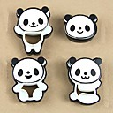 Little Panda Shape Bread Plastic Cake Mold, Set of 4