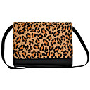 Womens Europe And America Fashion Leopard Print Tote