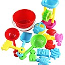 15 Piezas multicolores Beach temporizador Sand and Bucket Playset