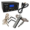 PRO Machine LCD Digital Tattoo Power Supply Clip Cord Foot Pedal