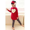 3 conjuntos de piezas de ropa de la muchacha (camiseta y leggings y Banda de pelo)
