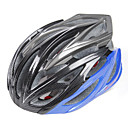 FJQXZ Unisex PC  EPS 24 Vents negro  azul Ciclismo Hlemets
