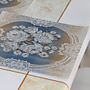 Conjunto de 4 impresos florales Manteles