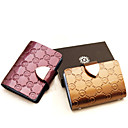 WomenS Patent Leather Embossed Card  Id Holders