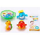 3 Piezas Mini Fantastic Sea Animals Bath Toy Set for Babies