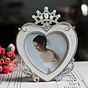 Modern Style Heart Crown Wedding Picture Frame