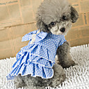 Bowknot Pattern Dress for Pets Dogs (Assorted Colors,Sizes)