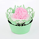 Lovebird Cupcake Wrapper - Set of 24 (More Colors)