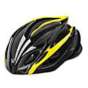 CoolChange Ciclismo 21 Vents EPS protectora Yellow Bicycle Helmet