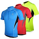 Arsuxeo Mens  Short Sleeve BreathableQuick-Drying Jersey