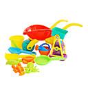 11 piezas de gran tamaño multicolor Trolley y Azud Embudo conjunto de juguete