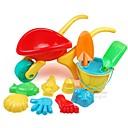 12 piezas de gran tamaño Espesar Agua y Arena Trolley conjunto de juguete