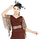 Dancewear Moda Lunares / Leopard Leopard viscosa Modern Dance Top (más colores)