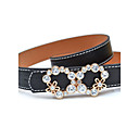 Womens Autumn And Witer Fashion Casual All-match Belt With Bowknot