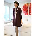 2014 ropa de maternidad del otoño hizo punto la primavera suelta suéter Camisa Diseño Básico