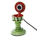 Watermelon Shaped Desktop 8 Megapixel Webcam with Mic