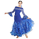 Performance Amazing Viscose Lace Embroidery Modern Dance Dress(More Colors)