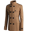 Mens Double Breasted Fashion Coat