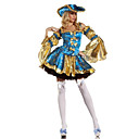 Marie Antoinette Kostüm Deluxe Blue Polyester Womens Carnival Party Costume