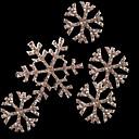 Frozen Snow Queen Elsa Silver Snowflakes Cosplay Headdress (4 pieces)