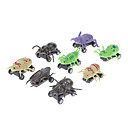 8pcs Inercia Insectos Mini Car Toys (color al azar)