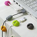 clip de fijación de alambre de escritorio (color al azar)
