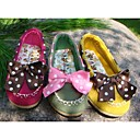 Image For Children's Sweet Lace Bow Tendon Late Shoes