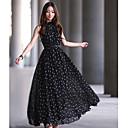 Moon Sunday Womens Dot Print Dress