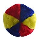 3 colores suave felpa de Formación de la bola de juguete para Mascotas Perros Gatos