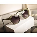 Unisex  New Retro Hollow  Metal Sunglasses(Assorted Color)
